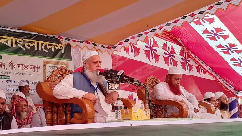 স্কুল-কলেজের পাঠ্যসূচিতে রাসুলের জীবনী অন্তর্ভুক্ত করতে হবে : পীর সাহেব দেওনা