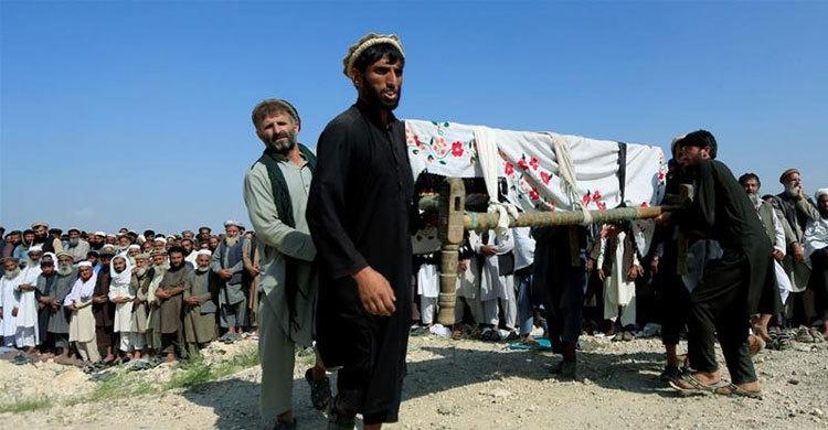 আফগানিস্তানে ভয়াবহ হামলা চালিয়ে আরও ৬০ বেসামরিক নাগরিককে হত্যা করল আমেরিকা